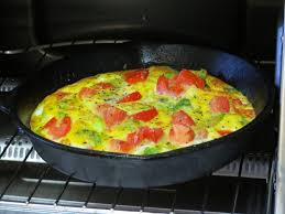 Quick Toaster Oven Recipes Healthy Breakfast Recipe Eggs And Veggies Cooked In The Toaster