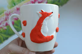Fox Mug by Personalized Mug Red Headed Fox Cup Sly Fox Coffee Mug