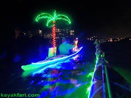 kayak lights for night paddling kayaking the 2016 boca raton holiday boat parade with rudolph