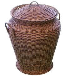 Cane Laundry Hamper by Chestnut Wash Ali Baba Laundry Basket Amazon Co Uk Kitchen U0026 Home