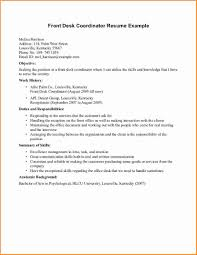 Dental Receptionist Resume Objective Dental Front Desk Resume Free Resume Example And Writing Download