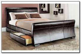 Platform Bed With Storage Underneath Size Bed Frame With Drawers Underneath Pcnielsen