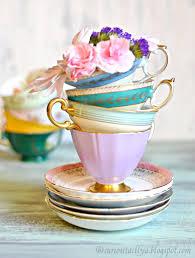 curiositaellya vintage tea cups love affair