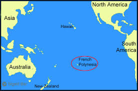 polynesia map of world a trip to tahiti the largest of the polynesia islands