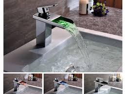 sink u0026 faucet elite single handle bathroom sink waterfall faucet