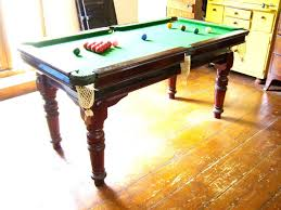 slate top pool table antique riley slate top snooker pool and dinning table 164 x 88cm