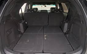 2012 Ford Exploer 2012 Ford Explorer Back Seats Down Photo 43989924 Automotive Com