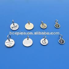 Engravable Sterling Silver Charms Fashion Engraved Custom Sterling Silver Charms Jewelry Tags Buy