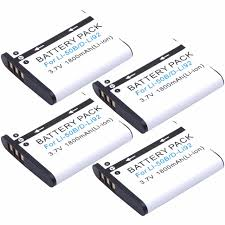 olympus vr 340 battery 4pcs probty li 50b li 50b battery for olympus vr 340 1010 1020