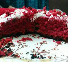 red velvet cake with cream cheese frosting u2013 krispy kadhai