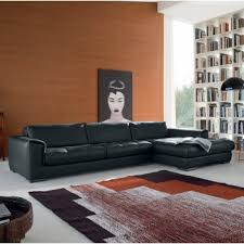 Leather Lounger Sofa Living Room Stylish Sofas Arsizio Leather Chaise Lounge Sofa Alley