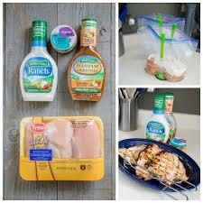 4 ingredient garlic ranch grilled chicken