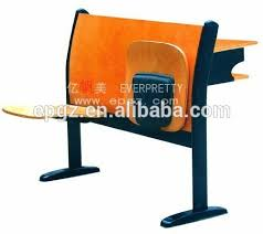 Lecture Hall Desk College Lecture Hall Desk And Folding Seat Folding Desk And Chair