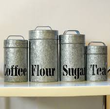 metal canisters kitchen 1000 ideas about vintage canisters on flour canister set