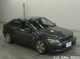 japan used car toyota lexus 1999 toyota altezza gray for sale stock no 50033 japanese