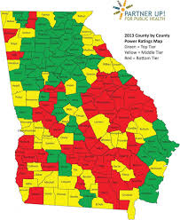 Il County Map Georgia County Map