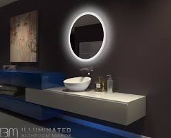 dimmable backlit led mirror round 32 x 32 u2013 ib mirror