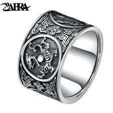 men vintage rings images Zabra sterling silver 999 ring men vintage men rings chinese 4 jpg