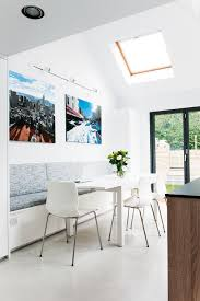glass roof kitchen extension real homes dearman kitchen seating