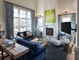 Dark Blue Living Room by Awesome Blue And Silver Living Room Designs Display Images Of