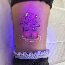 tukoi oya ultraviolet tattoos that glow in the dark under black