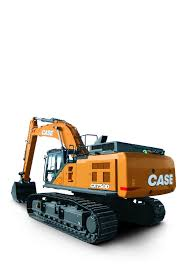 case introduces all new cx750d excavator with best in class