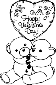 valentine coloring pages funycoloring