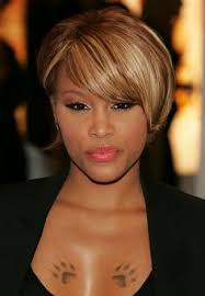 short mid hair pushed behind ears 25 stunning bob hairstyles for black women