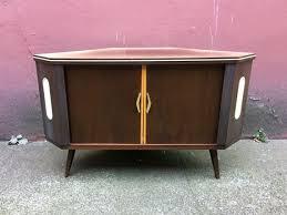 Retro Bar Cabinet Vintage Mid Century Modern Corner Bar Cabinet With Rotating