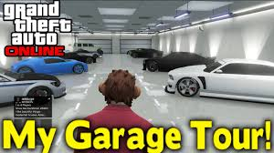Design My Garage Gta Online My Garage Tour Gta V Youtube
