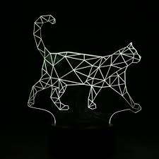 cat home decor walking cat home decor lamp