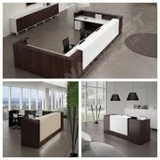 Napoli Reception Desk Open Concept Reception Allows Welcoming Feel With Mix Of Woods And