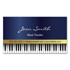 Business Card Music 24 Best Music Business Cards Images On Pinterest Business Card