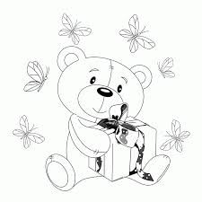 40 best teddy bear coloring pages for free gianfreda net