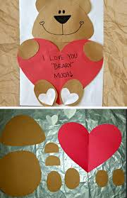 Valentines Day Decor For Work by Best 25 Valentine Crafts For Toddlers Ideas On Pinterest Easy