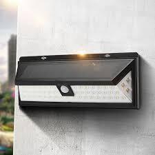 Solar Lights Outdoor Garden Solar Power 6w Pir Motion Sensor 54 Led Solar Light Outdoor Garden