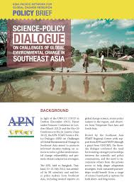 science policy dialogue on challenges of global environmental