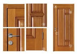 porte en bois de chambre chasse d eau unique chambre en bois modèles de portes simple cher