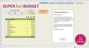How To Make Budget Spreadsheet Easy Budget Spreadsheet Excel Template Savvy Spreadsheets