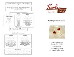 wedding cakes with prices and pictures wedding corners
