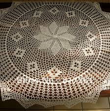 Lace Table Overlays Round Lace Table Topper Starrkingschool