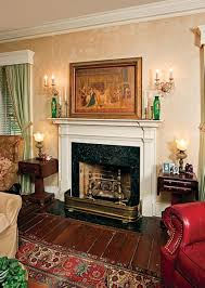fireplace finishes cleaning a marble mantel old house restoration products
