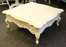 white vintage coffee table french white coffee table wonderful vintage coffee tables inside