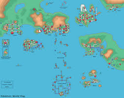 Dr Map Pokemon World Map By Dr Big47 On Deviantart