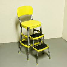 vintage kitchen retro chair bar step stool video and photos