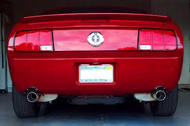ford racing exhaust mustang v6 2008 v6 pony package with ford racing power pack belonging to
