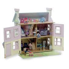 Doll House Furniture Ideas Le Toy Van The Lavender Dolls House Hayneedle