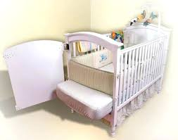 Cribs That Attach To Side Of Bed Co Sleeper Crib Baby Bedside Cot Bed Co Sleeper Side Sleeping Crib