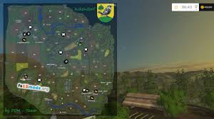 Map To Work Ackendorf Map Version 1 1 Fs15 Mods