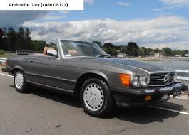 mercedes r107 560sl anthracite grey mercedes r107 560sl
